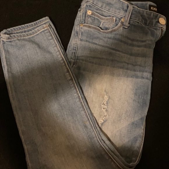 Express Ankle Low Rise Jeans